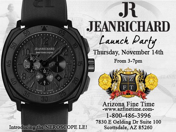 JeanRichard Launch Party at AZ Fine Time